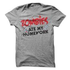 Zombies Ate my Homework T-Shirt - shirt design. Zombies Ate my Homework T-Shirt, tee aufbewahrung,harry potter sweatshirt. ADD TO CART =>. Harry Potter Sweatshirt, Hoodie Allen, Estilo Fashion, Look Fashion, Fashion 2014, Hippie Fashion, Chicos Fashion, Korean Fashion, Fashion Clothes