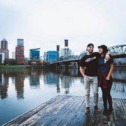 Portland Gear is a brand created by Marcus Harvey, who used his @portland Instagram account to market it.