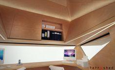Tetra Shed interiors