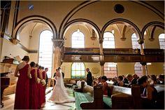 tenth presbyterian church philadelphia wedding - interior