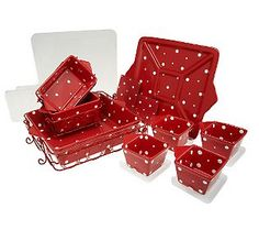 Temptations 13 piece set of everyday oven to tableware at QVC!  Lots of sets and patterns/colors to choose from too!