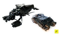 Lego motorized Tumbler and The Bat vehicles will bring out the Batman in you | Ubergizmo