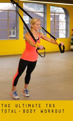 Training Workout for Total-Body Toning; Did a TRX workout class at the gym and was sore for a week! Such a great workout! Fitness Diet, Fitness Motivation, Health Fitness, Fitness Quotes, Total Body Toning, Trx Training, Sweat It Out, Gym Time, Fitspiration