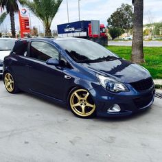 In turkey theyre having a awesome corsa scene this is one of the cars ! I like how the gold rims fit the blue paint! YOUR CAR HERE?! Just tag/mention me!
