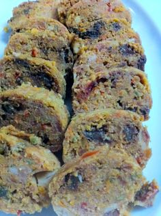 I prepare Embutido (otherwise known as Filipino style meatloaf) in large quantities. It's the perfect Holiday dish to prepare for unexpected guests. One can easily freeze the embutido, slice it , heat it