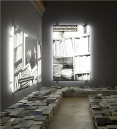 The Phenomenonof thelibrary - Joseph Kosuth Completion Date: 2006 Style: Conceptual Art Genre: installation