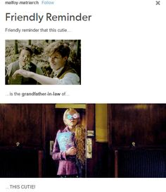 .i knew it. How? Because The sweet lady married mr kowalski, made Mr Scamander godfather, and the couple made babies