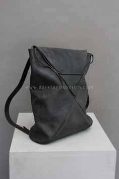 """Envelope"" Leather Backpack - MA+"