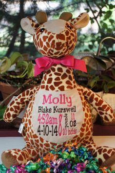 Gerry giraffe buddy personalized stuffed animal baby gift birth gerry giraffe buddy personalized stuffed animal baby gift birth announcement animal giraffe stuffed animal negle Gallery