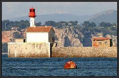 Phare Saint-Mandrier sur mer, Cote d'Azur ~  (1884. Active)
