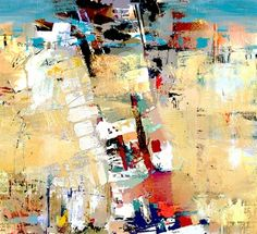 "Saatchi Online Artist Serj Fedulov; Painting, ""Abstract Composition  3"" #art"