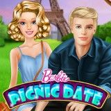 Barbie was very surprised when Ken invited her to the picnic. She wants to have a great time, so the food question remains. Prepare some snack and dress up to look beautiful!