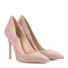 539e216a3cbc4e Gianvito Rossi Ellipsis Suede Pumps Suede Leather Shoes