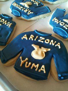 FFA jacket sugar cookies. Good idea for FFA banquet.