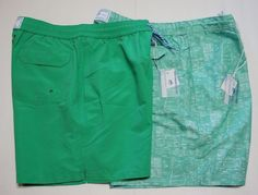 NWT Southern Tide Water Shorts Swim Trunks Size S, M, XL Aquatic Green Palmetto  http://www.ebay.com/itm/-/262021871557?ssPageName=STRK:MESE:IT #SouthernTide #Trunks #watertrunks #green #palmetto #boats #swim #summer