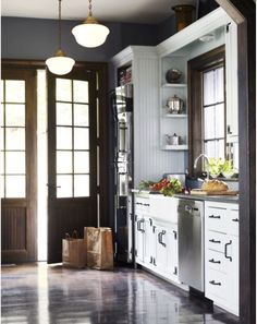 I Always Wanted A Kitchen With French Doors   Sublime Decor