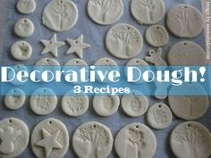 Baking Soda & Cornflour Dough, Salt Dough and Cinnamon Dough Recipes