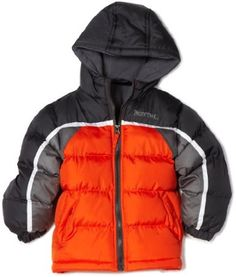Pacific Trail - Kids Boys 2-7 Colorblocked Puffer Jacket; size 4