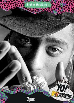 Yo Mtv Raps Cards by Malcolm Rouse - West, via Behance