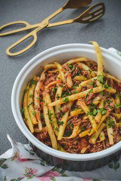 Pork Recipes, Food Art, Pasta Salad, Tasty, Cooking, Ethnic Recipes, Kitchen, Dish, Eat Lunch