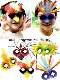 Planos de aula para educação Infantil, atividades, projetos de educação infantil, músicas, histórias, lembrancinhas com sucata e muito mais! Easy Crafts For Kids, Diy For Kids, Carnival Crafts, Rolled Paper Art, Recycled Art Projects, Egg Carton Crafts, Summer Activities For Kids, Preschool Crafts, Kindergarten Activities