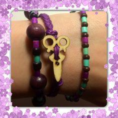 Wood beads 10