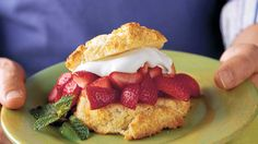 Skip those little cups you get from the grocery store and try our simple, Southern shortcake. If you're pressed for time, you can bake the cakes ahead and freeze t
