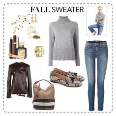 """""""Casual Attire : Cozy Cashmere"""" by katieparker3 on Polyvore featuring Blue Nile, J.Crew, Marco Bicego, Cartier, Tom Ford, Theory, PHILO-SOFIE, J Brand, Nora Kogan and Bony Levy"""