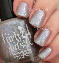 The PolishAholic: Girly Bits Through The Looking Glass Swatch & Review