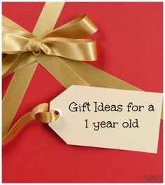 Gift Ideas For 1st Birthday's or Christmas for a 1 year old by FSPDT