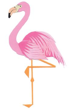 Limited edition Flamingo Print by FrankiePip on Etsy