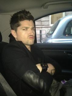Photo of Danny O'Donoghue  - car