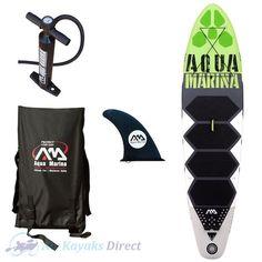"Aqua Marina Thrive 9'9"" Inflatable SUP Paddleboard Dual Kayak #Aqua-Marina-SUP #Dual-Kayak-SUP #Inflatable-SUP"
