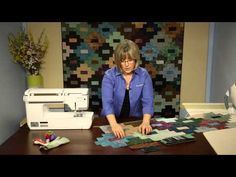 "Mineral Springs Quilt Kit | Keepsake Quilting. Native American design using 2-1/2 "" strips"