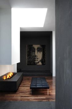 Modern Fireplaces in Distrito Capital Hotel