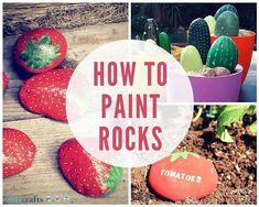 Diy ideas of painted rocks with inspirational picture and words 283
