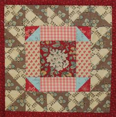 Quilt mania -Mystery quilt with new block pattern every two weeks