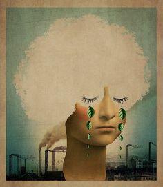Catrin Welz-Stein arte digital surrealista desde Alemania