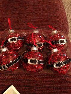 My Santa Ornaments