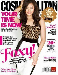 MANILA - Popstar Princess Sarah Geronimo is the latest cover girl of Cosmopolitan June 2013 issue while Brapanese model Daniel Matsunaga . Filipino Fashion, Filipina Beauty, Cosmopolitan Magazine, Fashion Mag, Geronimo, Celebs, Celebrities, Covergirl, Simply Beautiful