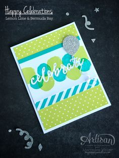 Mercedes Weber @ My Paper Paradise: Stampin Up Artisan Blog Hop- Celebrate...