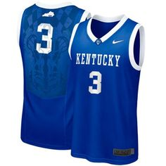 Kentucky #3 Basketball Jersey (Terrence Jones)