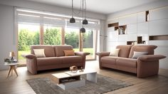 Blending modern design with soft detailing - Zelos Sofa from ROM. http://www.romsofas.co.uk/sofa-collections/zelos/