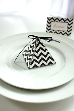 17 Colors Available Printable Chevron Pyramid Box by ThePoshEvent, $3.00