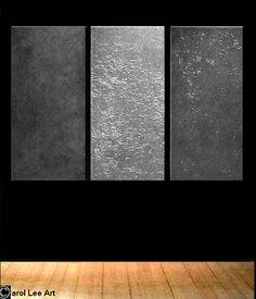 Bildergebnis für silver abstract paintings