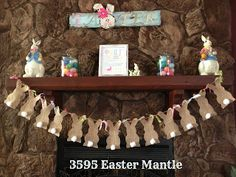 3595: 3595 Easter Mantle AKT: just like the banner
