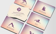 Business Cards for Yoga Instructors