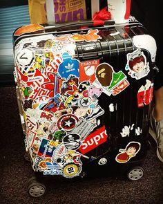 an editorial life rimowa luggage topaz stealth series travel