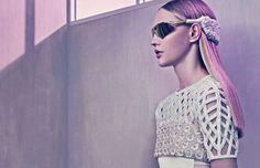 Balenciaga S/S 2015   Sasha Pivovarova por Steven Klein [Campaign]