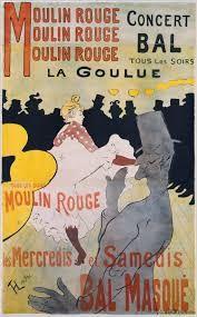 Znalezione obrazy dla zapytania toulouse lautrec moulin rouge
